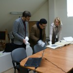 Przejdź do - Meeting with Professor Tomoki Takeda in the State Archive in Warsaw